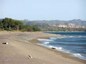 Beautiful-beach-front-Vera-Cruz-Mexico-shoreline